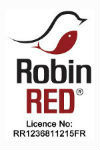 Logo Robin Red avec la licence d`utilisation Haith`s n RR1236811215FR